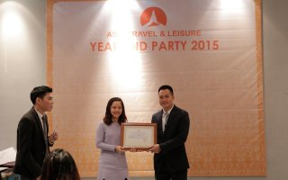 Asia Travel & Leisure had the year end party in Hanoi in the evening of Jan 8th 2016.