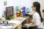 Thanh Huyen @ Asia Travel & Leisure's Hanoi Head Office